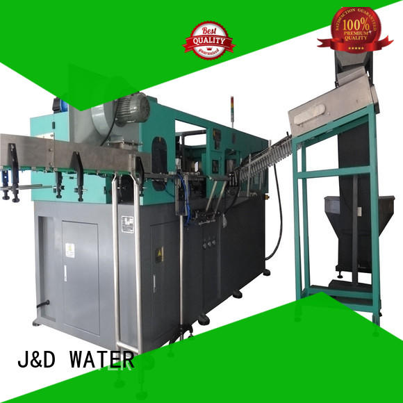 J&D WATER Customized water bottle making machine stable for hot infusion