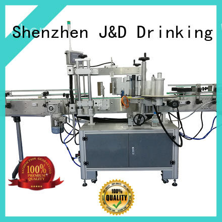 J&D WATER Automatic self adhesive labeling machine reduce cost for plastic bottle