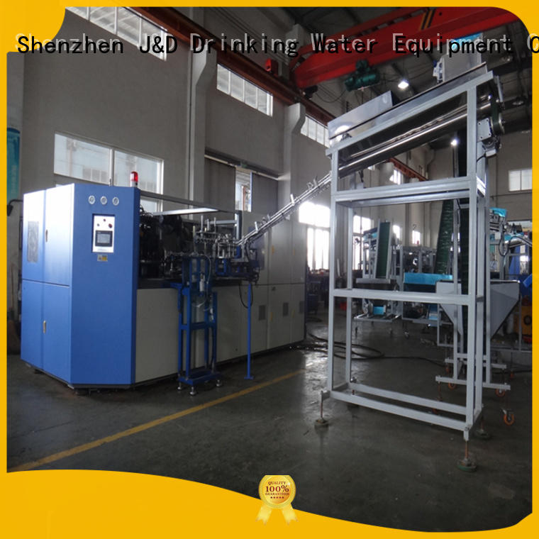 Economical automatic pet bottle blowing machine standard for package J&D WATER