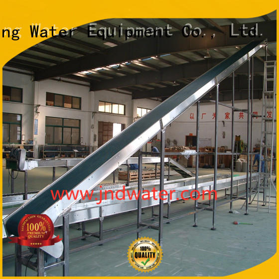 stainless belt steel chain conveyor conveyor J&D WATER Brand