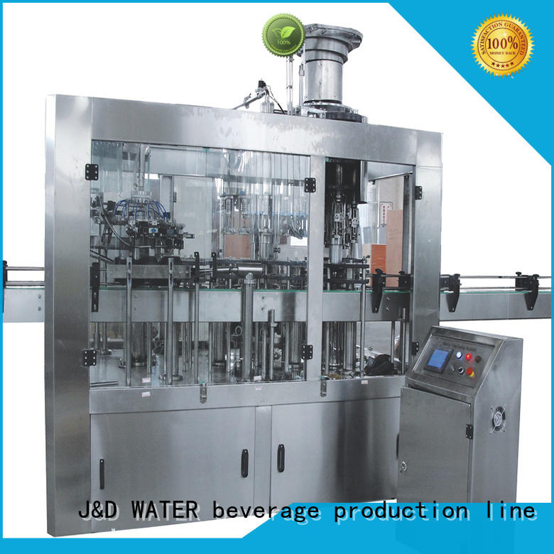 adjusted water bottling machine factory for tea