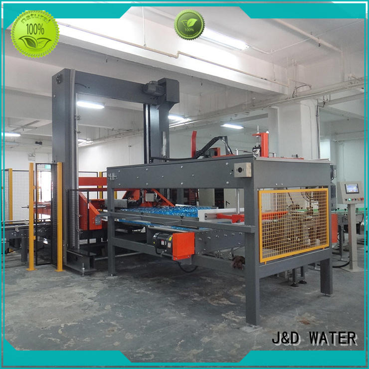 J&D WATER automatic automatic palletizer precise control for beverage