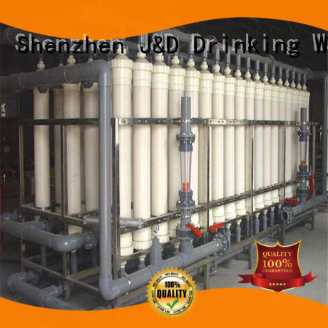 J&D WATER easy operation mineral water purifier machine purifier water