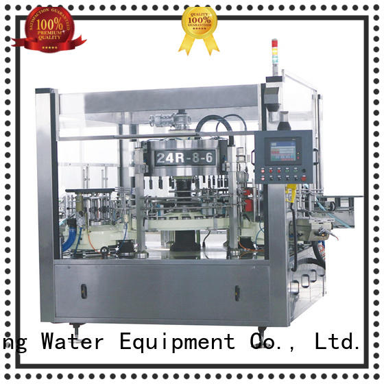 J&D WATER labeling bottle labeling machine quickly for label papers
