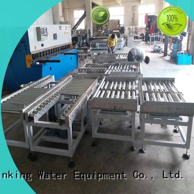energy saving roller conveyor system high efficiency for water J&D WATER