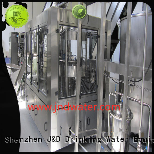 filling automatic fully bottle capping machine J&D WATER Brand company