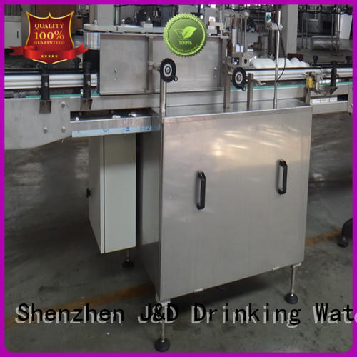 stainless steel bottle sticker labeling machine intellectual control for metal container