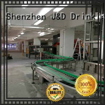 J&D WATER easy transport steel roller stainless steel for daily chemical