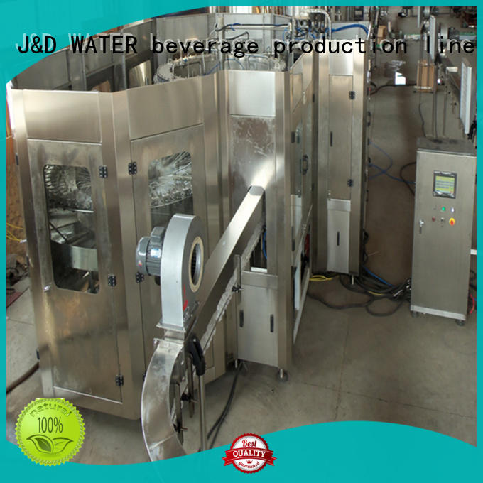 J&D WATER auto packing machine convenient for pure water