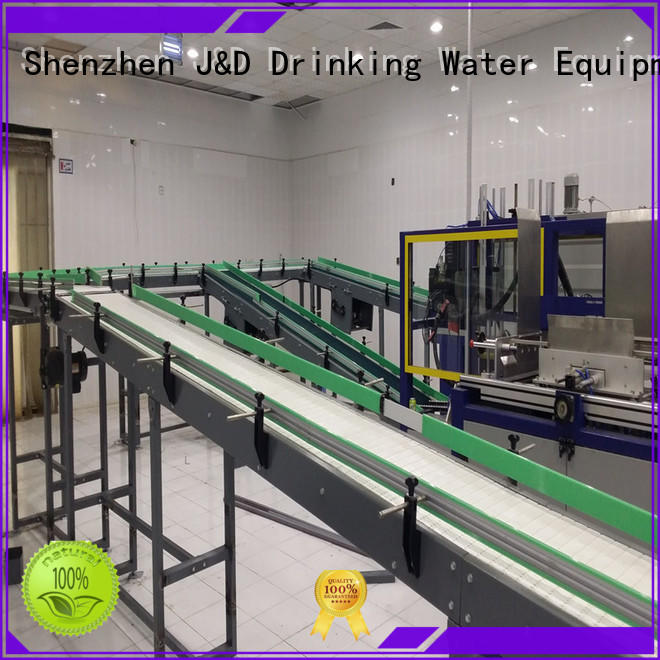 J&D WATER Customized slat conveyor high efficiency for drinking water