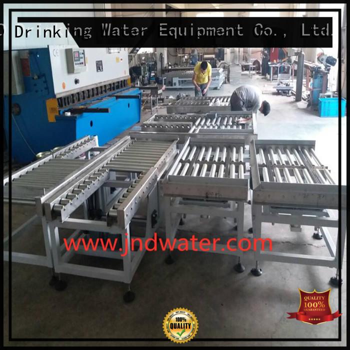 gravity roller conveyor water roller gravity conveyor J&D WATER Brand