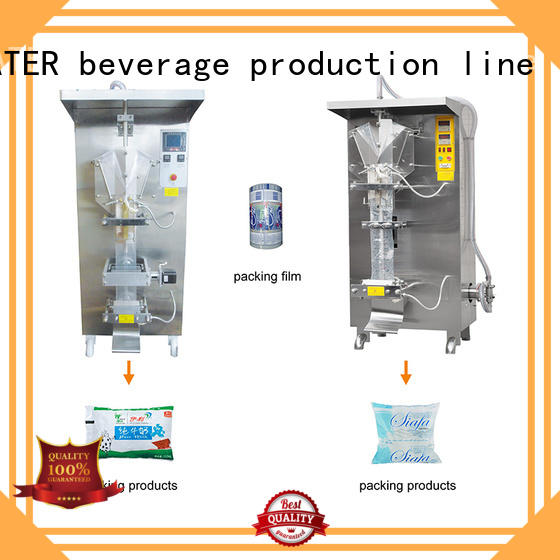 J&D WATER bag filling machine high accuracy for container