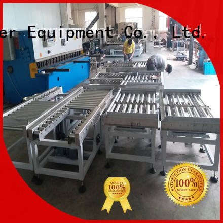 steel powered roller conveyor stability for daily chemical J&D WATER