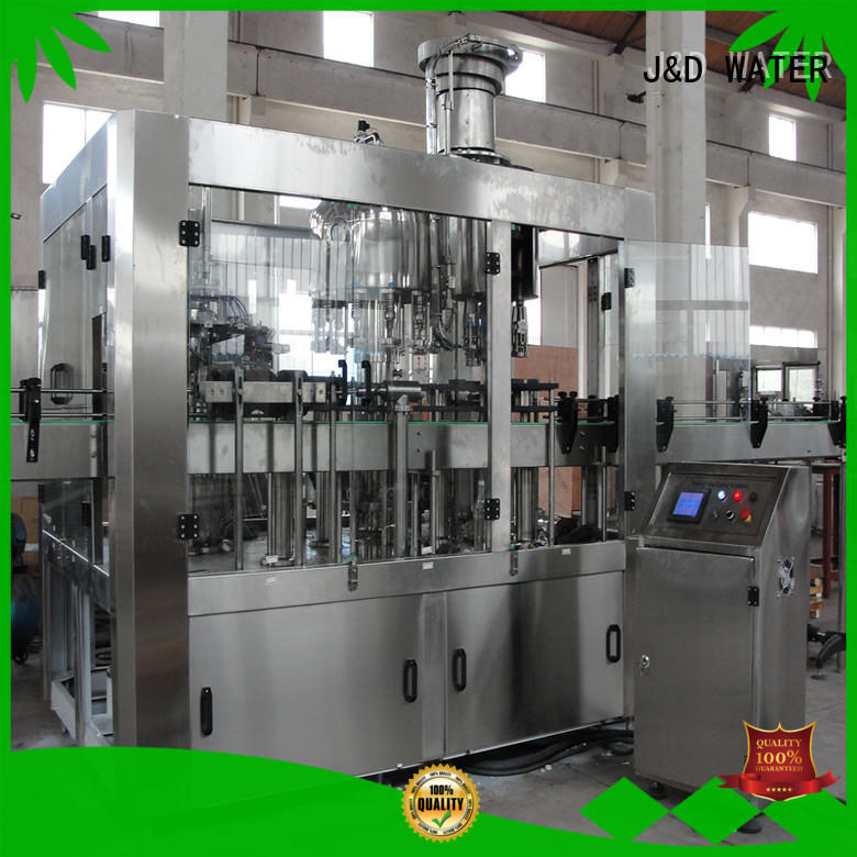 J&D WATER liquid packing machine high accuracy for sauce