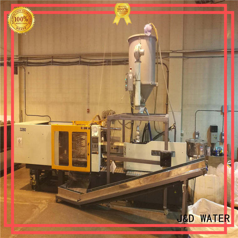 J&D WATER energy saving plastic injection molding machine cost for PET preform