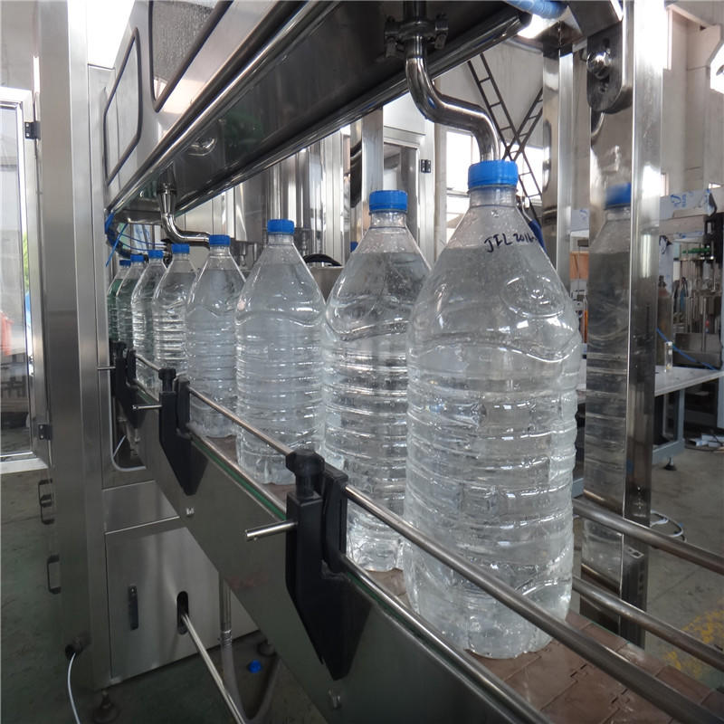 J&D WATER larger capacity beverage filling machine for Glass bottles-3