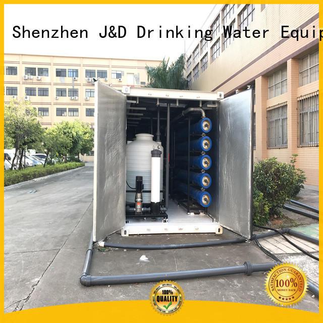 J&D WATER Economic desalination equipment plant for sea shore cities