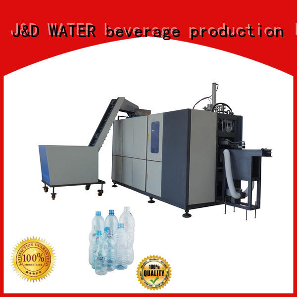 Automatic pet bottle machine stable for beverage