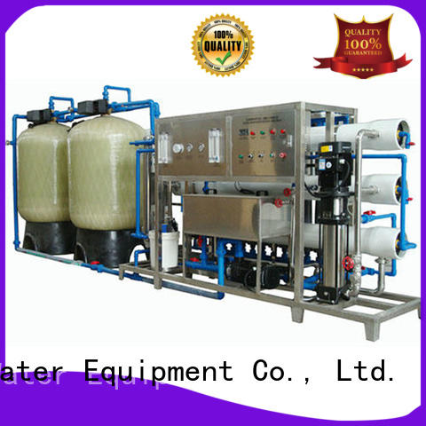 J&D WATER Customized ro machine with Glass Tank for pure water
