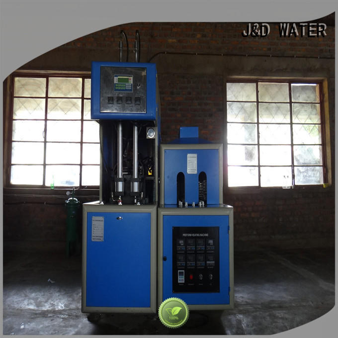 J&D WATER high quality blow molding machinery effortlessly for oil bottles
