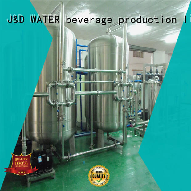 J&D WATER high quality mineral water machine filter water
