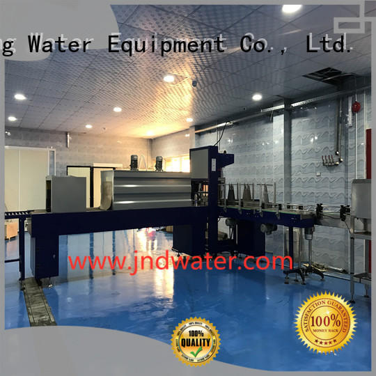 J&D WATER automatic heat shrink wrap machine reduce cost food