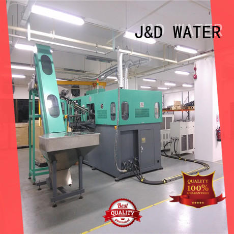 easy operation pet blow moulding machine standard for cosmetic
