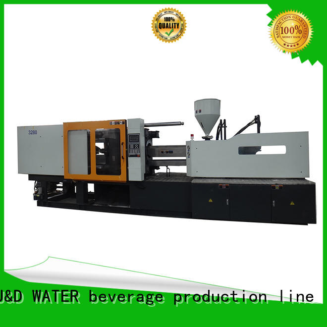 J&D WATER injection molding machine moulding for manufacturing for plastic products