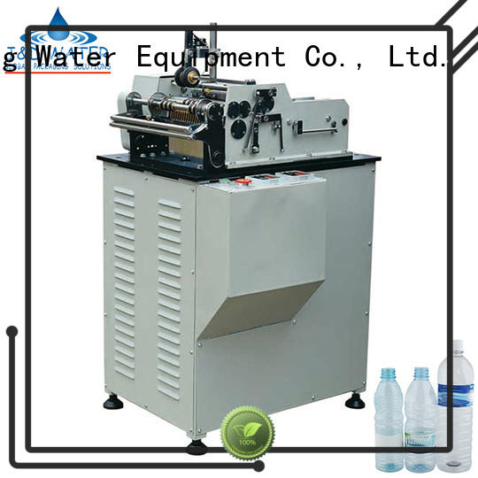 J&D WATER waterproof square bottle labeling machine convenient for label papers
