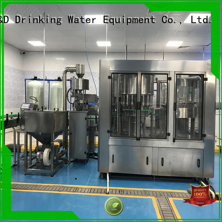 J&D WATER easy operation water packing machine engineering for sauce