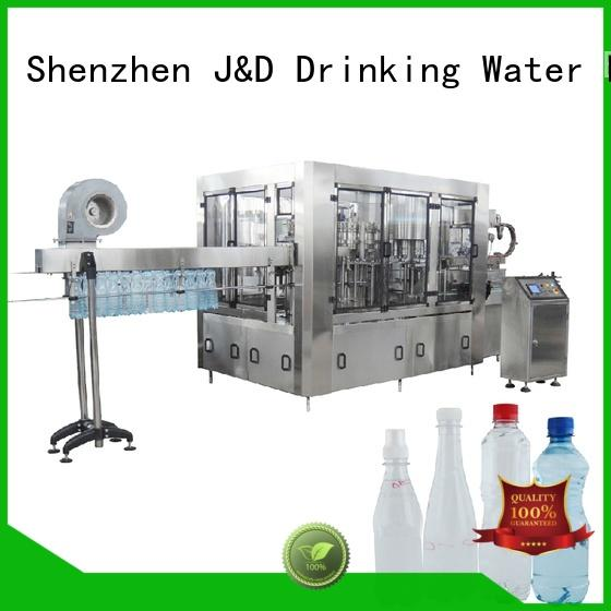 J&D WATER easy operation filling machine manufacturer high automation for juice