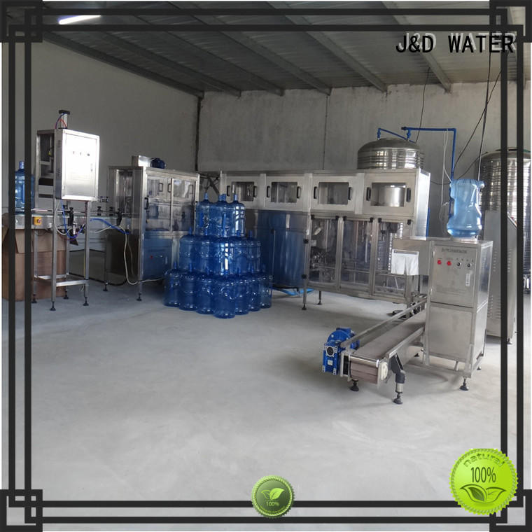 J&D WATER poweder filling machine complete function for mineral water