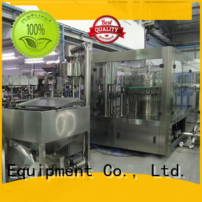capping water bottling equipment engineering pure water J&D WATER
