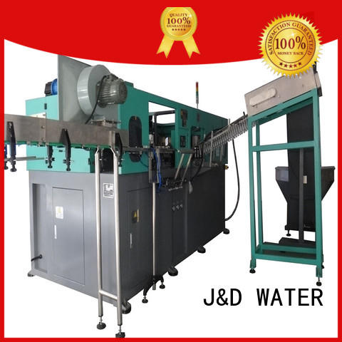 J&D WATER easy operation pet bottle blowing machine effortlessly for hot infusion