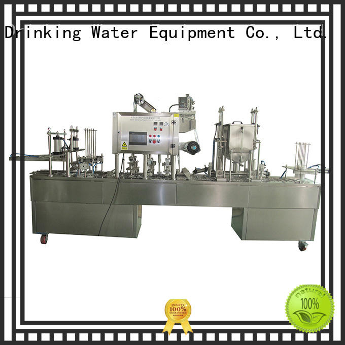 J&D WATER advanced technology cup sealing machine high accuracy for mineral water