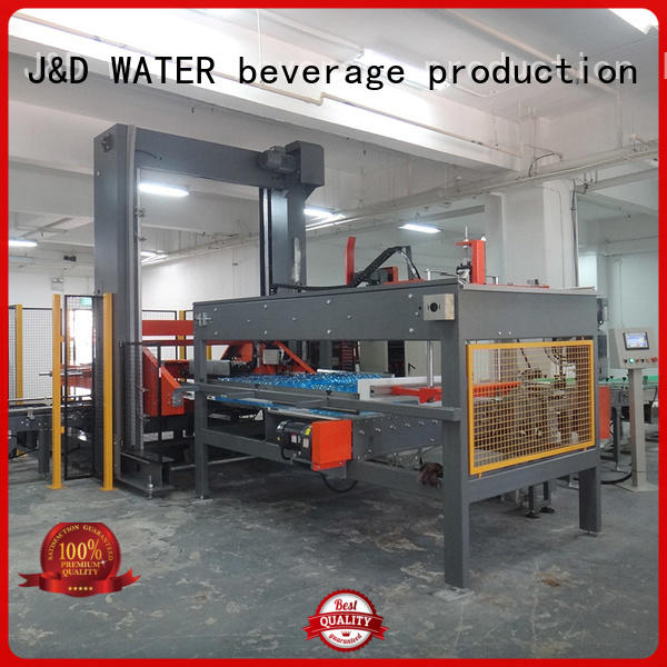 pouch automatic palletizer high quality for beverage