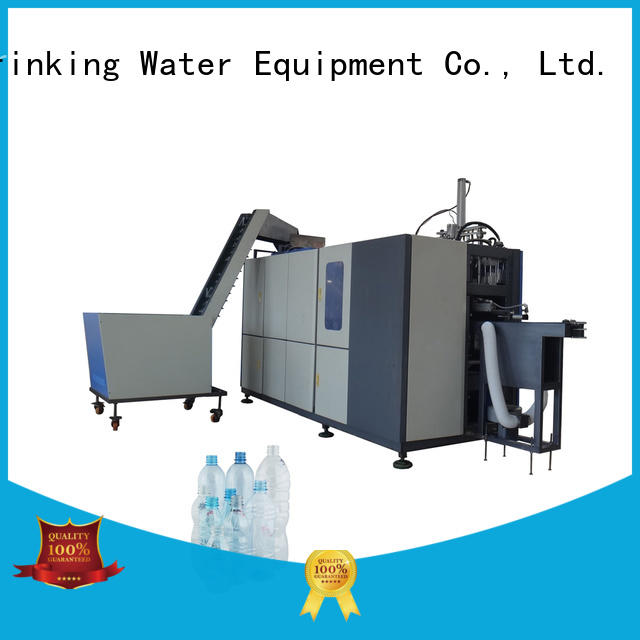 J&D WATER Stretch semi automatic pet blowing machine price reheat PET plastic container