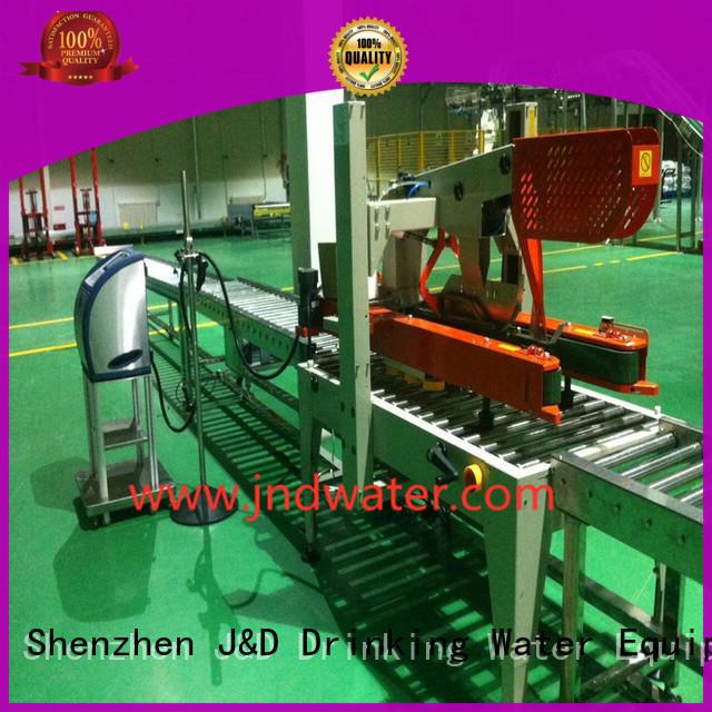 вода Custom конвейер гравитационный конвейер ролик J & D WATER
