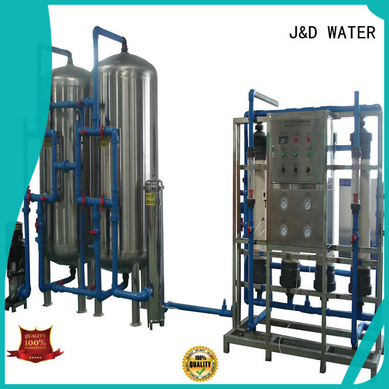 easy operation water plant machine purifier for treatment plants