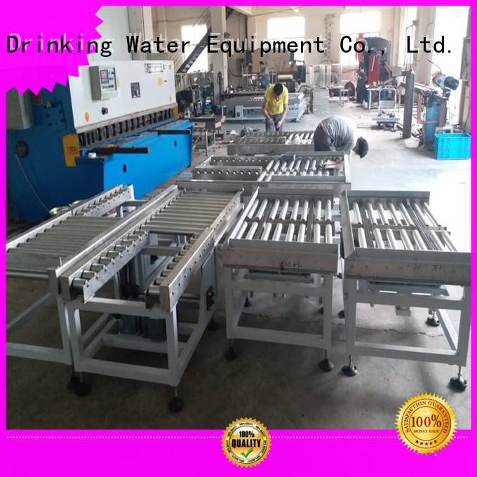 gravity gravity conveyor roller for daily chemical J&D WATER