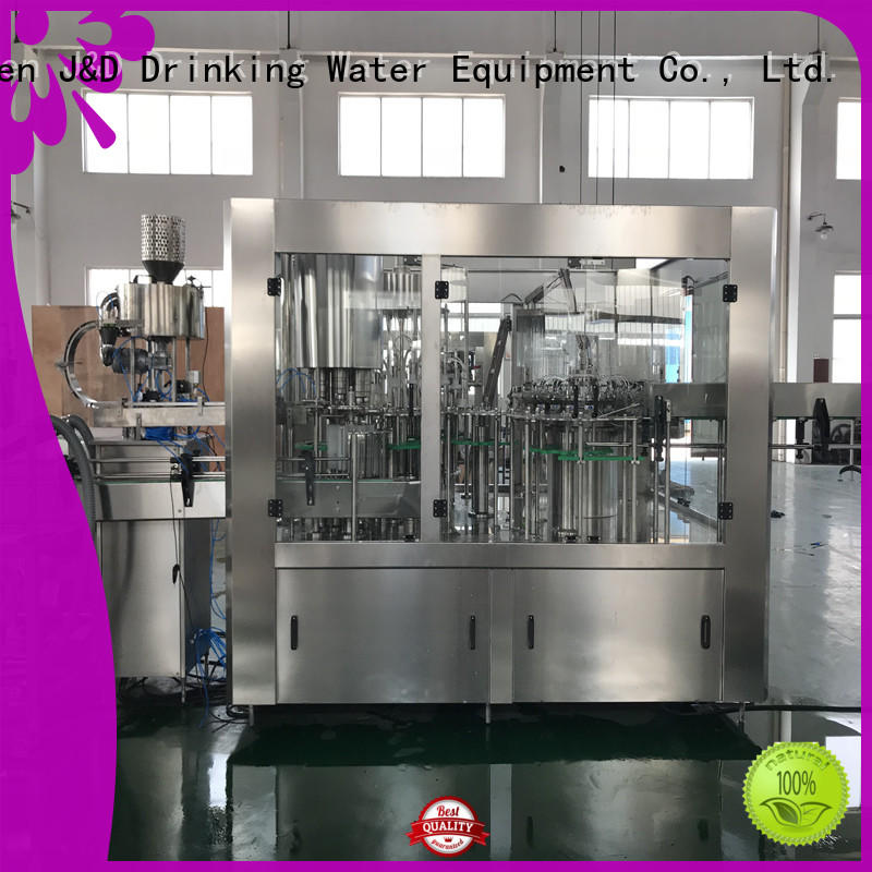 adjusted mineral water filling machine stainless steel for vinegar