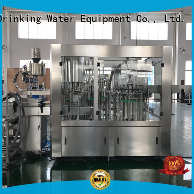 easy operation bottle washing filling capping machine engineering for milk