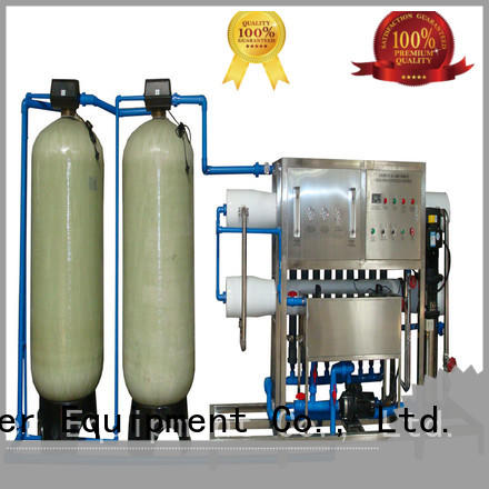 economic reverse osmosis machine with Glass Tank for water treatment