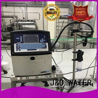 J&D WATER inkjet printer easy to operate for paper