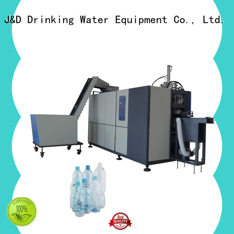 J&D WATER injection blow moulding machine stable for container