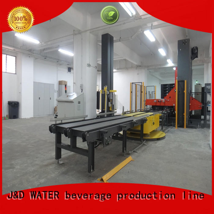 J&D WATER wrapping machine high quality for beer