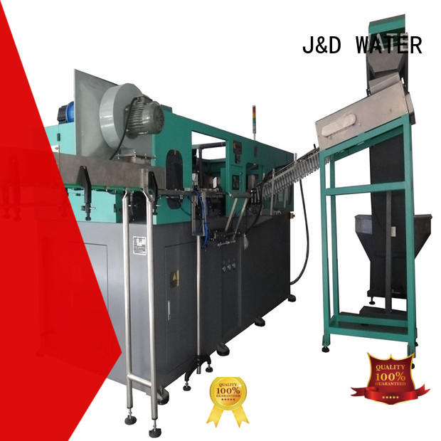 J&D WATER injection blow moulding machine effortlessly for cosmetic