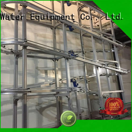 J&D WATER chain conveyor stability for beverage,