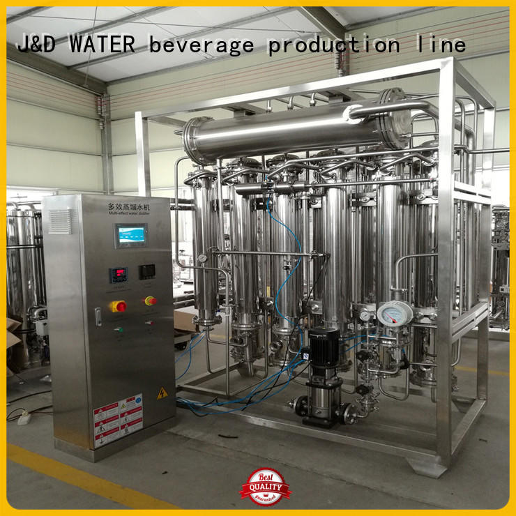 low energy consumption distillation machine high purity for hospital
