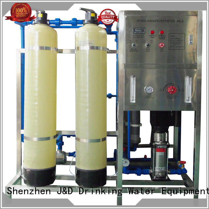 tank osmosis machine economic for pure water J&D WATER